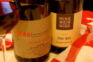 2007 Wayne Gretzky Estate/ Mike Weir Wine Pinot Noir