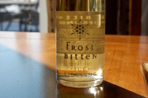 Frost Bitten ~ an Iced Riesling