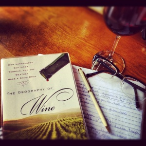 books and wine: homework can be fun!