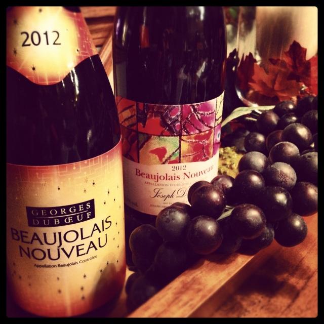 DuBeouf and Drouhin 2012 Beaujolais Nouveau