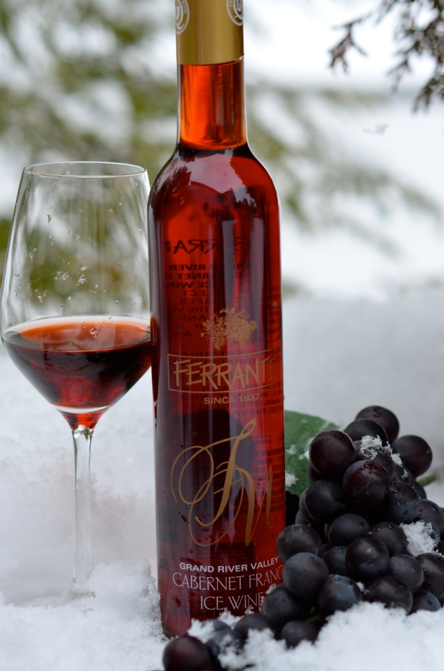 Icy Loveliness: Ferrante Cab Franc Ice Wine